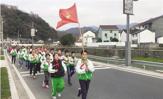 岭南乡校启动冬季长跑